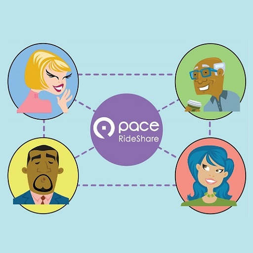 How Pace RideShare Works Image
